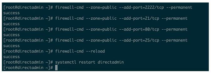 Hướng dẫn cài đặt DirectAdmin trên CentOS 7 & 8 (5)