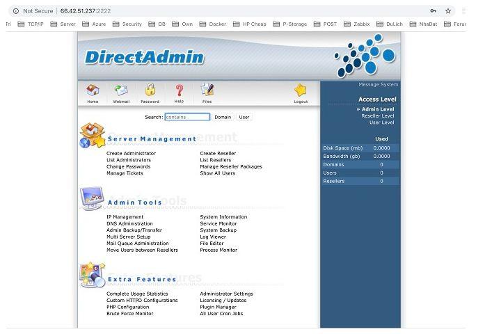 Hướng dẫn cài đặt DirectAdmin trên CentOS 7 & 8 (7)