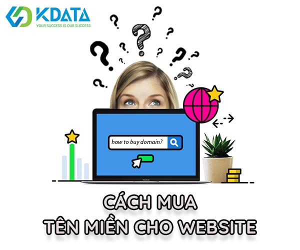 Cách mua tên miền website
