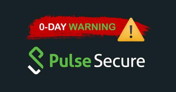 Cảnh báo tháng 4: Lỗ hổng 0-day của Pulse Secure đang bị tấn công 1