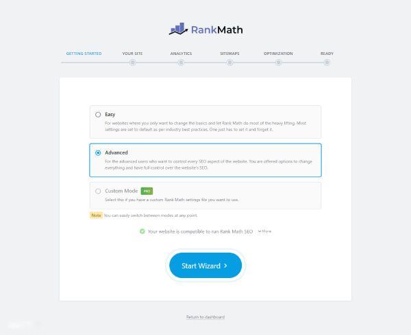 Hướng dẫn cài đặt, kết nối Rank Math SEO vào website WordPress 4