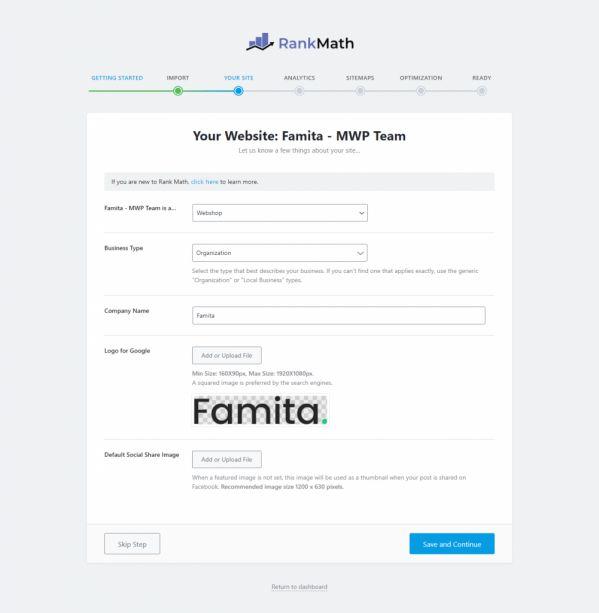 Hướng dẫn cài đặt, kết nối Rank Math SEO vào website WordPress 6
