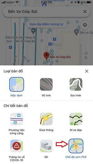 Hướng dẫn sử dụng tất tần tật các tính năng có trên Google Maps 8