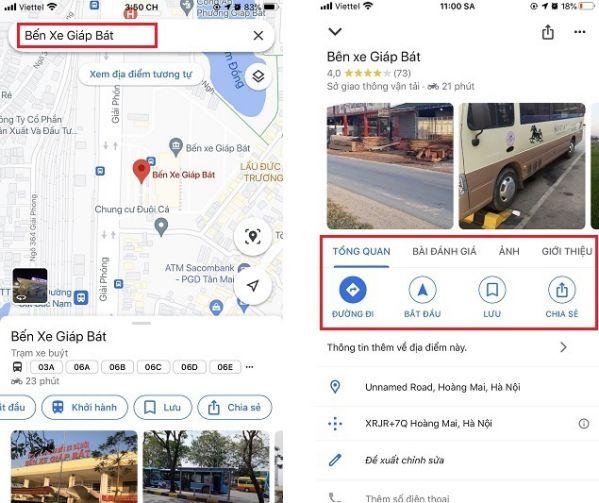 Hướng dẫn sử dụng tất tần tật các tính năng có trên Google Maps 2