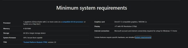 Hỏi đáp: Cấu hình tối thiểu của Windows 11 là bao nhiêu? 1