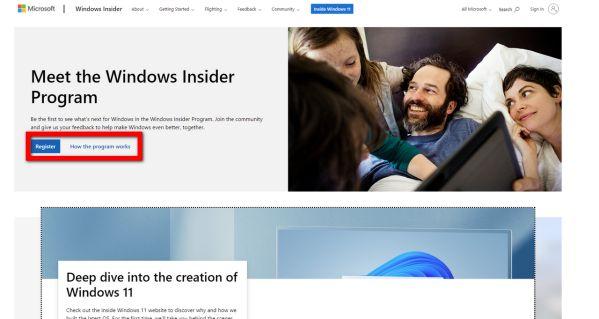 Hướng dẫn cách đăng ký để trải nghiệm bản Beta của Windows 11 11