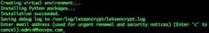 Hướng dẫn cài đặt chứng chỉ SSL Let's Encrypt cho VPS (1)