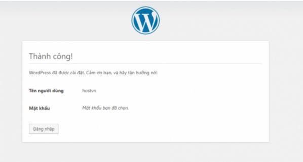 Hướng dẫn cài WordPress trên Hosting DirectAdmin chỉ với 5 bước 19