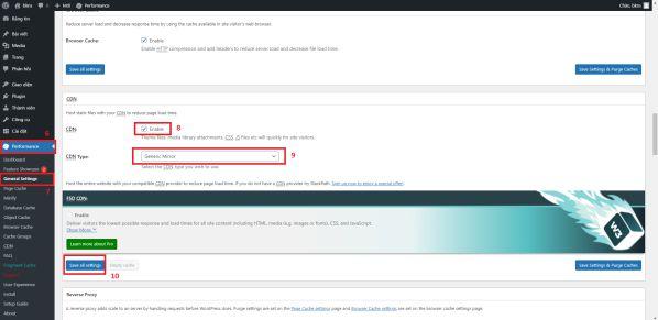 Hướng dẫn tích hợp CDN vào mã nguồn WordPress siêu nhanh 4