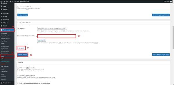 Hướng dẫn tích hợp CDN vào mã nguồn WordPress siêu nhanh 5