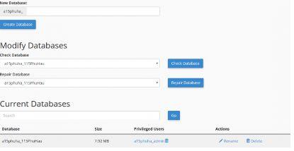 Hướng dẫn cài đặt WordPress, tạo Database trên Hosting CPanel 4
