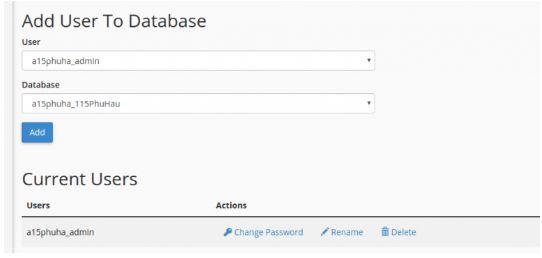 Hướng dẫn cài đặt WordPress, tạo Database trên Hosting CPanel 5