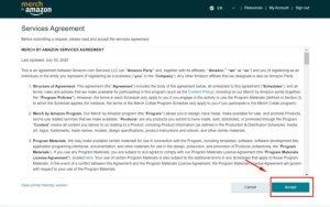 Reg acc Merch: Hướng dẫn cách đăng ký Merch Amazon chi tiết (7)