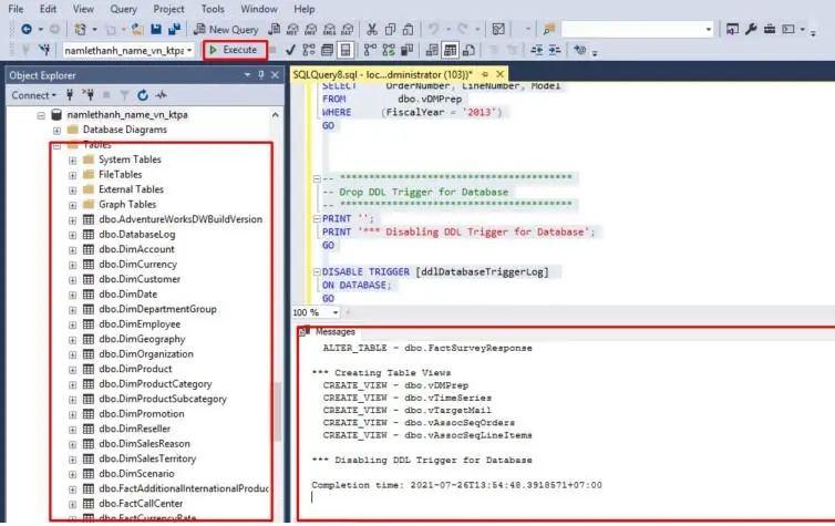 Cách import script SQL Server trên công cụ SQL Management (3)