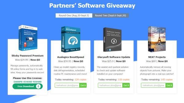 HOT: WinXDVD tặng Free 10 phần mềm bản quyền trị giá 450 USD 2