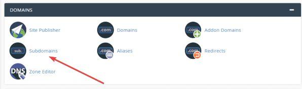 Hướng dẫn cách Addon Domain (tên miền) và tạo Sub Domain cPanel 4