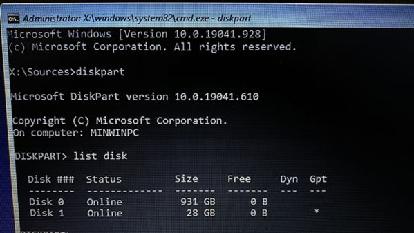 """Sửa lỗi """"Windows cannot be installed to this disk"""" sai định dạng ổ cứng 1"""