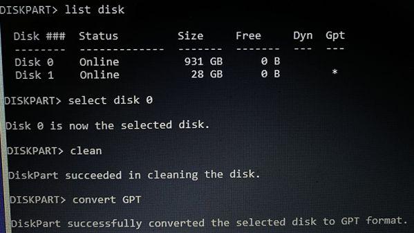 """Sửa lỗi """"Windows cannot be installed to this disk"""" sai định dạng ổ cứng 2"""