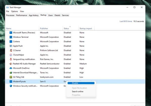 Cách tăng tốc máy tính Windows không cần nâng cấp phần cứng 5