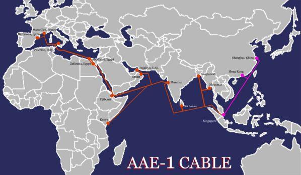 Cáp AAE-1 lại gặp sự cố, chưa xác định kế hoạch sửa chữa cụ thể 1