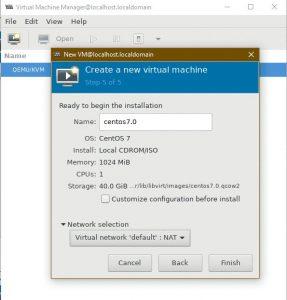 Hướng dẫn cài đặt (Install) KVM trên CentOS 7 (8)