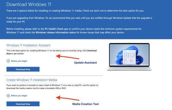 Hướng dẫn cách nâng cấp PC lên Windows 11 trên mọi thiết bị 3
