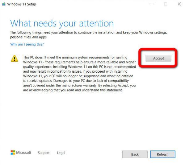 Hướng dẫn cách nâng cấp PC lên Windows 11 trên mọi thiết bị 8