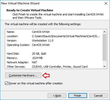 Hướng dẫn cài đặt CentOS 7 trên VMware đầy đủ nhất (8)